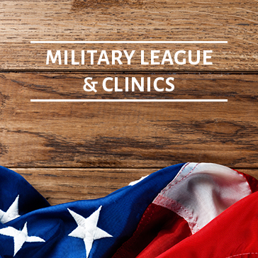 Military League and Clinics, Golf Academy web banners