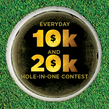 Hole in one contest
