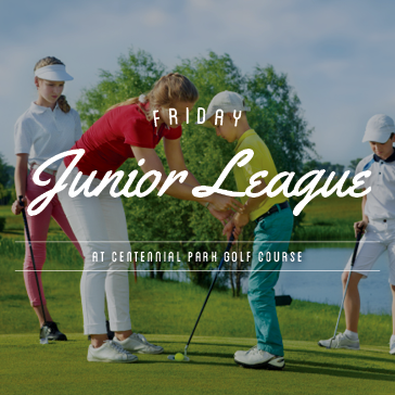 Junior Golf League at Centennial Park Golf Course