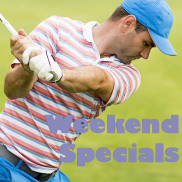 weekend golf specials