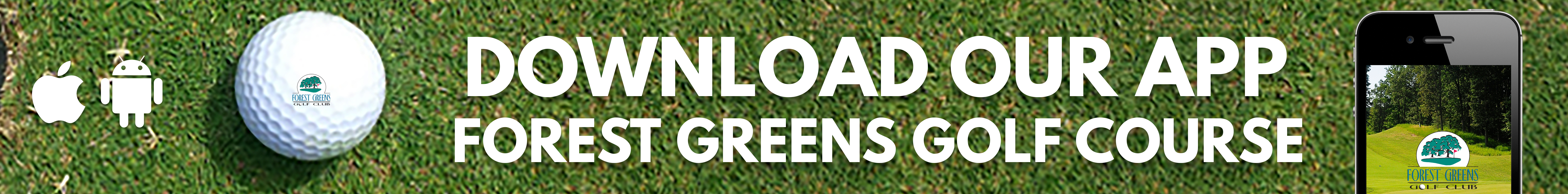 Forest Greens Golf App