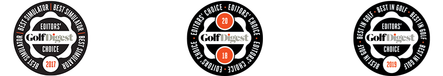 Golf Digest Logos - Best Golf Simulator 2017 2018 2019