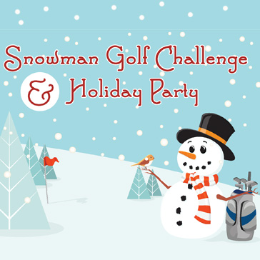 Snowman Golf Challenge and Holiday Party