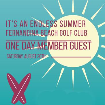 One Day Member Guest event at Fernandina Beach Golf Club