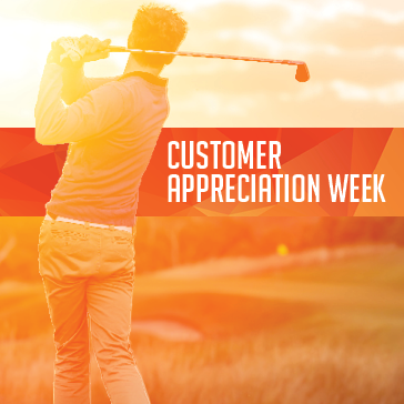 Forest Preserve Golf Customer Appreciation Week