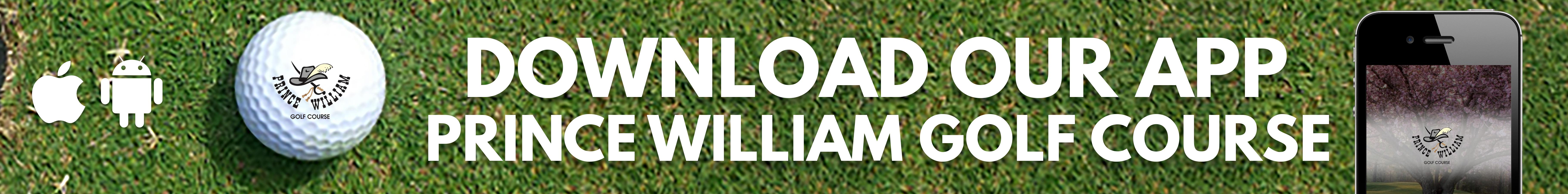 Prince William Golf App