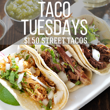Brea taco lovers can come to the treehouse bar and grill at birch hills golf course to enjoy $1.50 street tacos