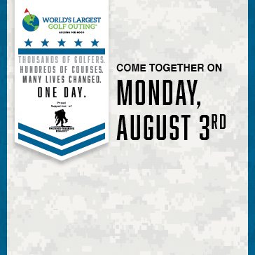 World's Largest Golf Outing on Monday, August 3rd