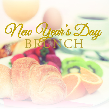New Years Brunch banner for Event at Cypress Creek Country Club Florida