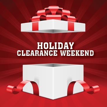 Holiday Clearance Golf Sale at a Golf Course