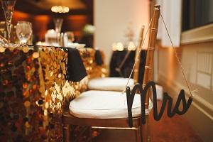 Sweetheart Table Mrs. Chair Hanger