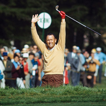 Billy Casper Winning USGA Open