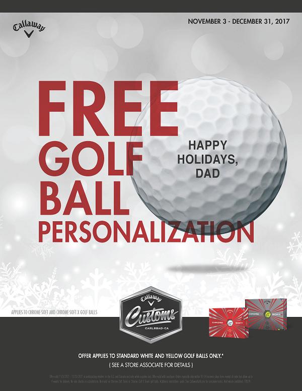 Free Callaway Personalization