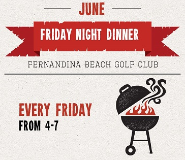 June Friday Night Specials at Fernandina Beach Golf Club