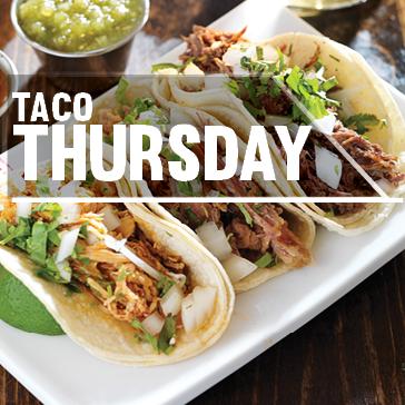 Taco Thursdays at golf course