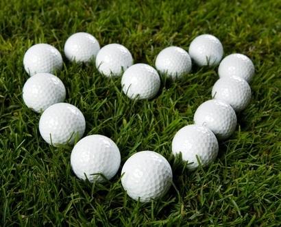 Valentine's Day Dinner | Love | Heart of Golf Balls