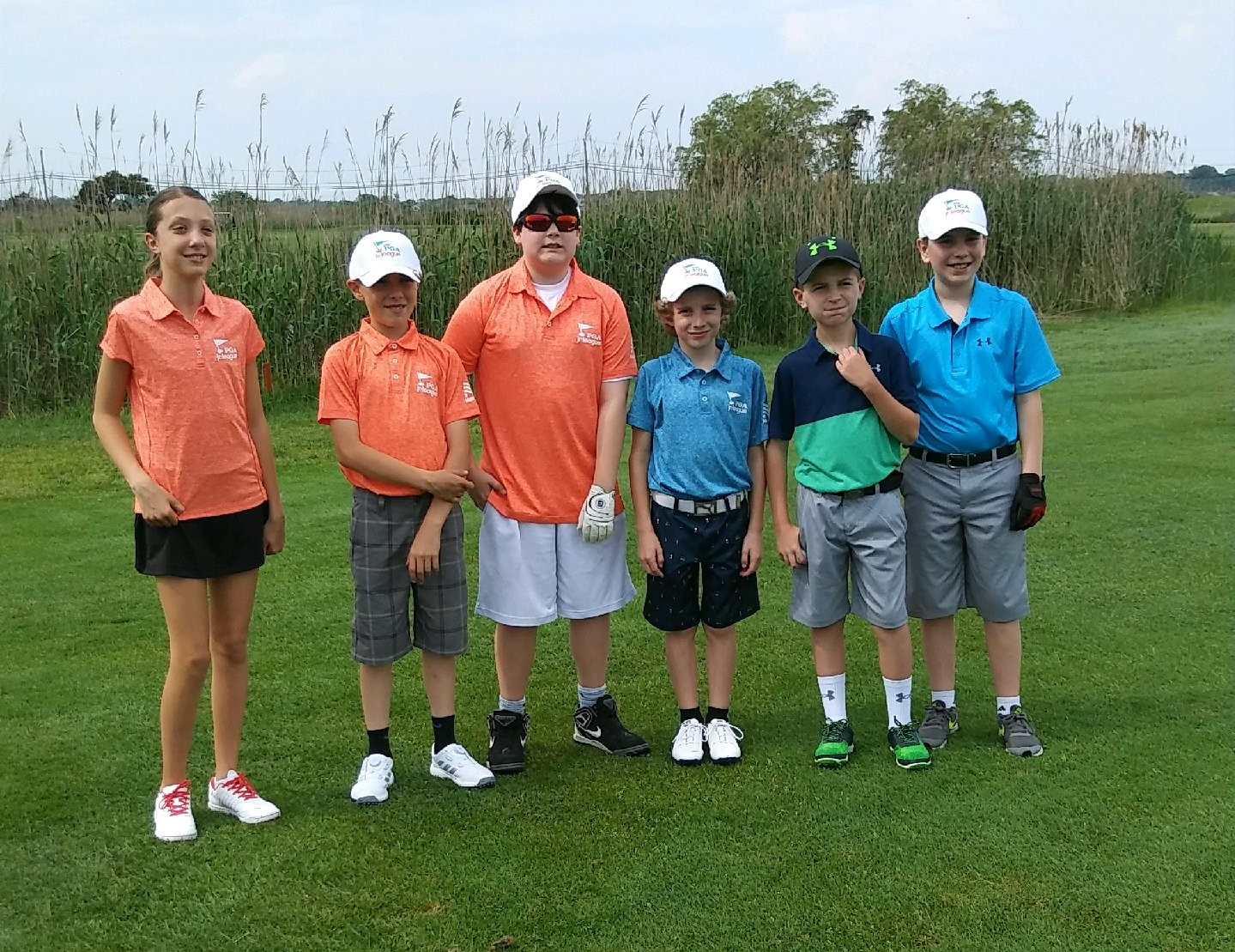 Pine Ridge Junior Golfers