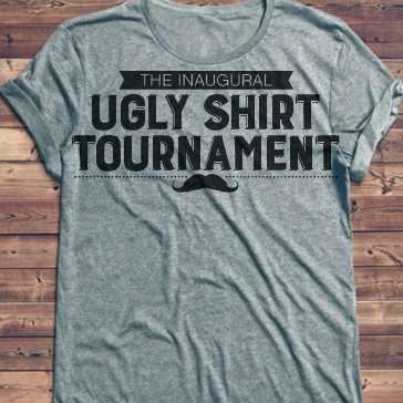 ugly shirt tournament
