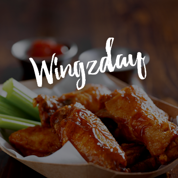 Wing specials every Wednesday at the Treehouse bar and grill in Brea, CA