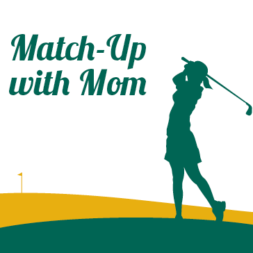 match up with mom