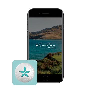 Hokuala golf app phone icon