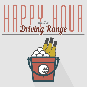 Happy Hour on the Driving Range at Brea Creek