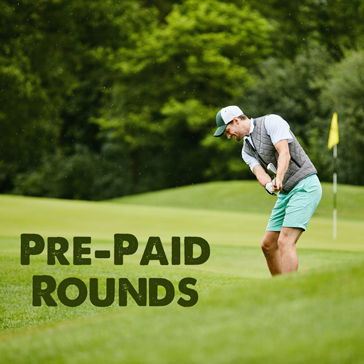 Pre-Paid Golf Rounds