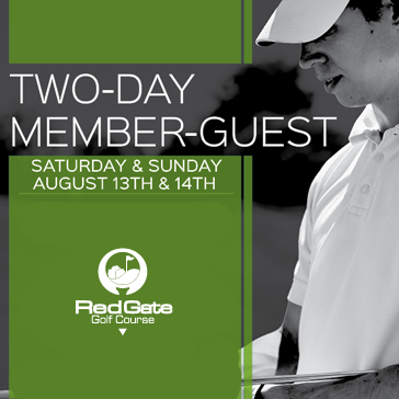 RedGate member Guest Golf event