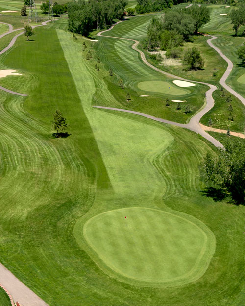Broken Tee Golf Course - Englewood Colorado - Golf hole by hole