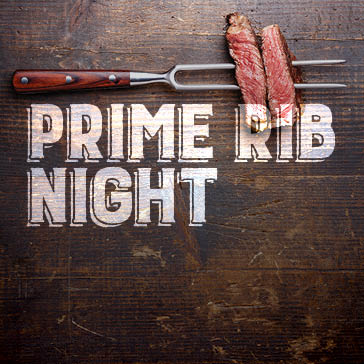 Prime Rib Night at Orchard Valley Golf Course