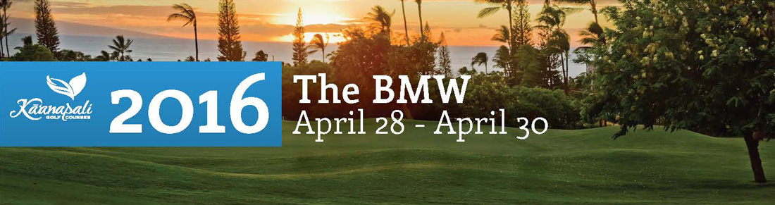 2016 The BMW Golf Event at Kaanapali Golf Courses