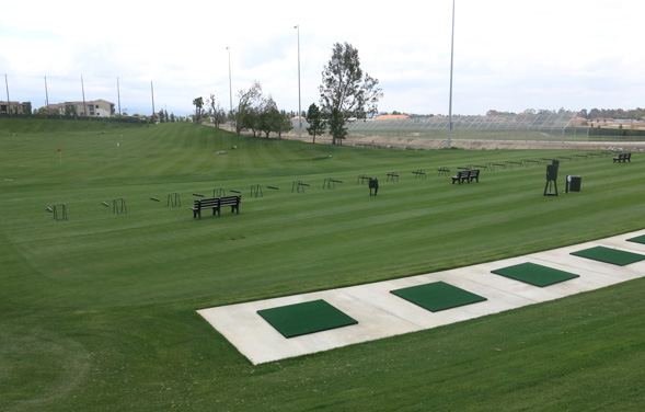 Birch Hills Golf Course - Grass Driving Range