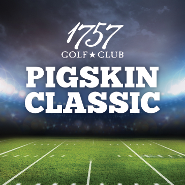 2015 Pigskin Classic Event at 1757 Golf Club