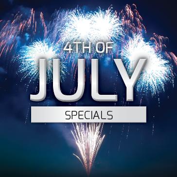 4th of July Specials at Billy Casper Golf