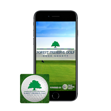 Phone Icon Mobile App Forest Preserve Golf