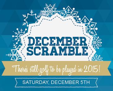 December Scramble