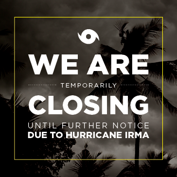 Hurricane Irma Closings