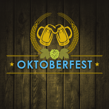 Oktoberfest golf event at golf course