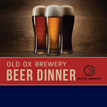 Old Ox Brewing Beer Dinner at 1757 Restaurant