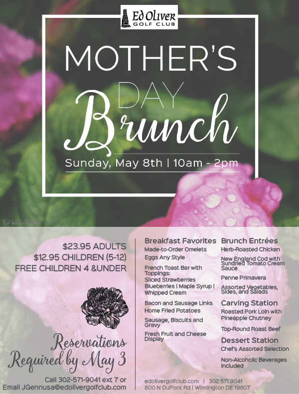 Mother's Day Brunch EMAIL - Menu