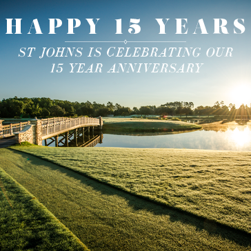 15 Year Anniversary at St Johns