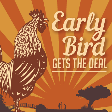 Early Bird Special at a Billy Casper Golf Course