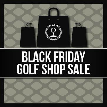 Black Friday Golf Shop Sale