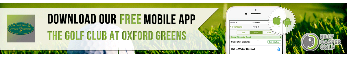 Oxford Greens Golf App