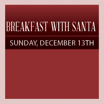 Breakfast with Santa at Orchard Valley Golf Course