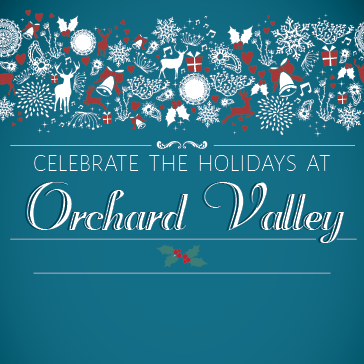 Holiday Banquets at Orchard Valley Golf Course