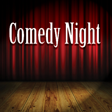 Comedy Night stage image at golf course managed by billy casper golf