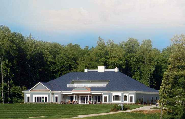The Remastered Clubhouse at Lake Presidential Golf Club in Upper Marlboro, MD