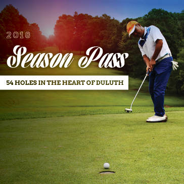 2018 memberships - Season Pass at Duluth Golf courses