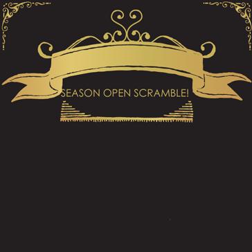 Season Open Scramble 2016